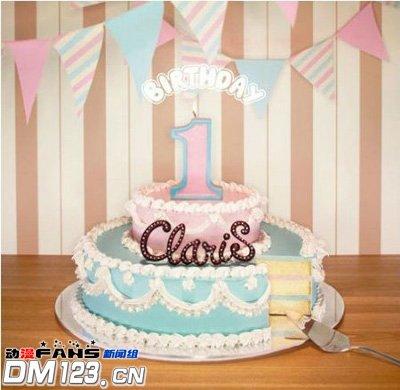 ClariS首张专辑居Oricon排行第二