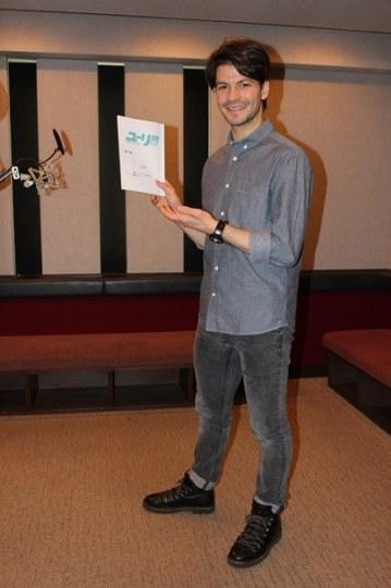 瑞士花滑选手兰比尔为《冰上的尤里》配音 对动画赞不绝口