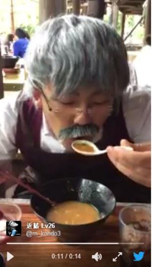 日本游客COS《木偶奇遇记》木匠
