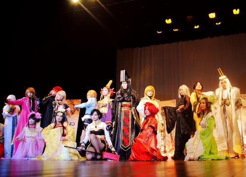 第7届南京高校cosplay大赛上演!