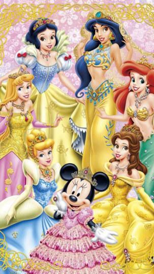 简直美翻了!梦幻的迪士尼公主项链