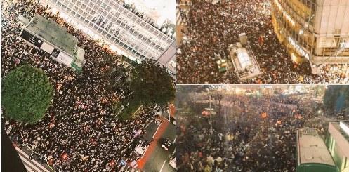 今年日本万圣节的涩谷又挤满了人