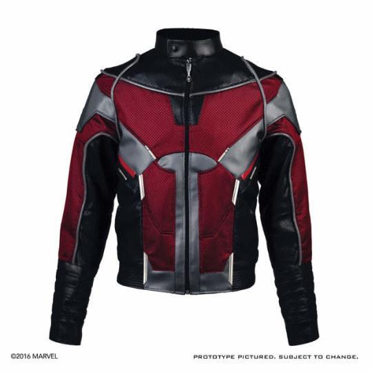漫威英雄外套发售 美国队长、蚁人、黑寡妇三管齐下