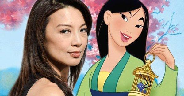 华裔演员温明娜或有望加盟真人版《花木兰》