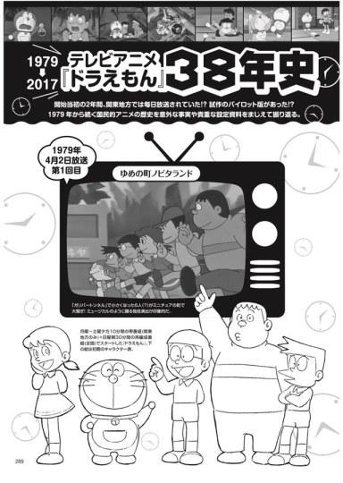 《哆啦A梦》推出夏季特辑书 收录大量珍贵资料及最新情报