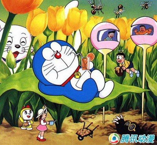 [哆啦A梦]被评为最受欢迎卡通形象