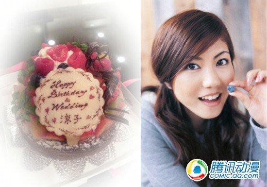 人气声优白石凉子博客上宣布结婚