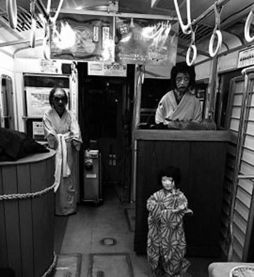 现实版如月车站 日本电车公司推出电车鬼屋