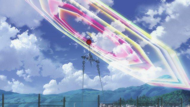 东京天空树惊现彩红防护罩