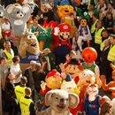 德国166个卡通吉祥物游行,冲击世界纪录
