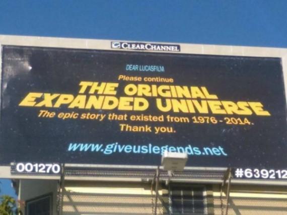 粉丝呼吁卢卡斯影业扩展星战宇宙