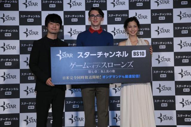 《权力游戏》第七季回归 布兰演员与福山润同框