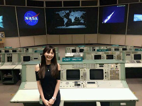 团长美梦成真?平野绫参观美国NASA
