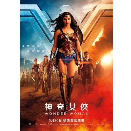 DC《神奇女侠》国内票房破五亿