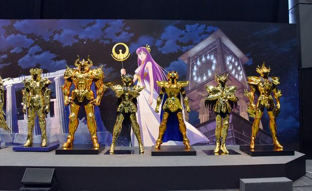 《圣斗士星矢》30周年展开幕,动画将有新动作