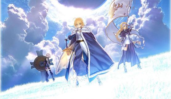 人气手机游戏《Fate/Grand Order》新作动画正在准备中