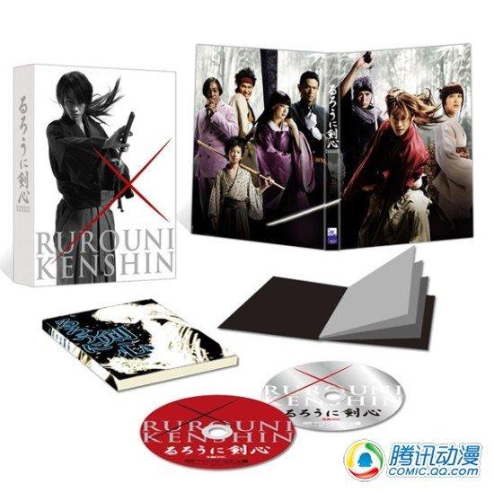 《浪客剑心》真人版BD DVD下月发售