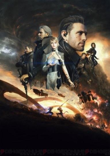 《最终幻想15》动画电影上映十天票房破亿
