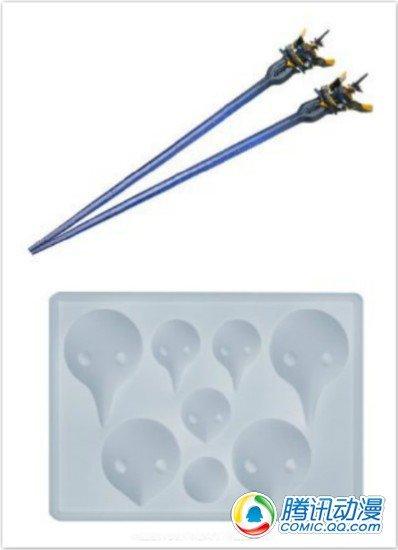 《新世纪福音战士》推出模具和筷子