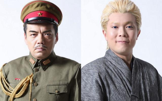 全是制服系男子《代号D机关》舞台剧公开全员定妆照
