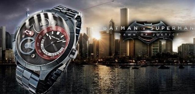 霸气!《蝙蝠侠大战超人》限量手表公开
