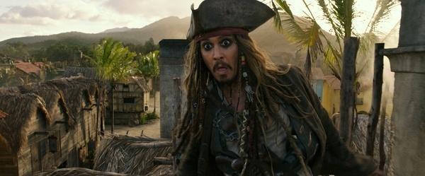 德普叔魅力大 《加勒比5》票房破10亿内地成全球最大票仓