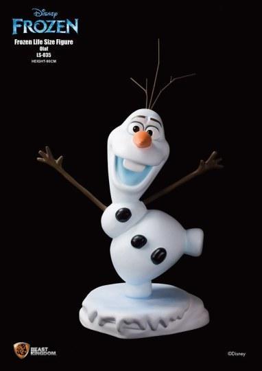 香港厂商推出《冰雪奇缘》等身大手办