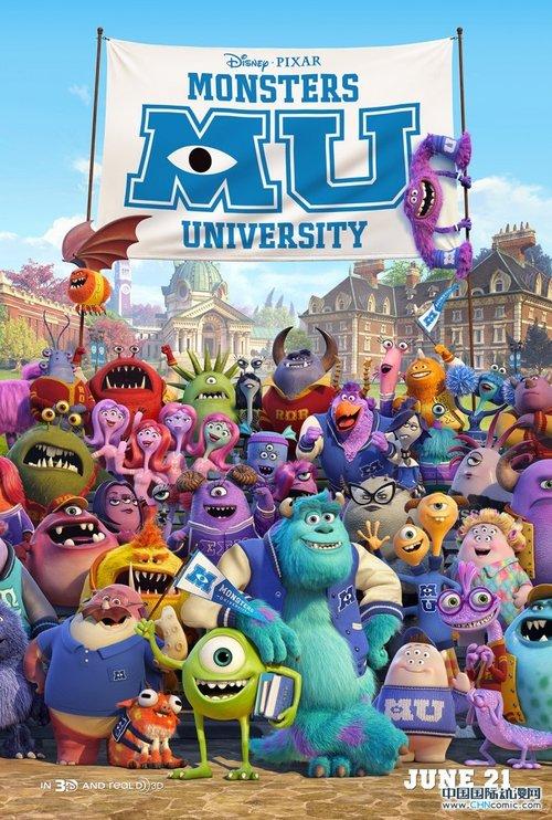电影《怪兽大学》发布电视预告片