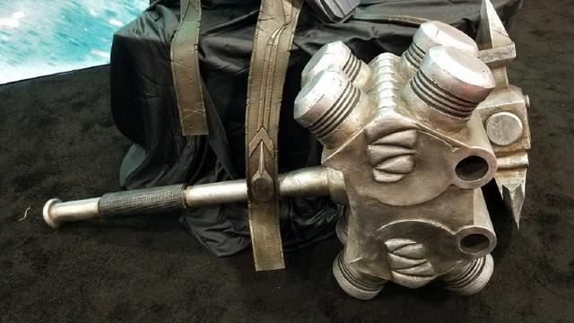 无敌了!《雷神3》曝浩克角斗士护甲及武器