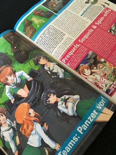 《少女与战车》登上德国动画杂志