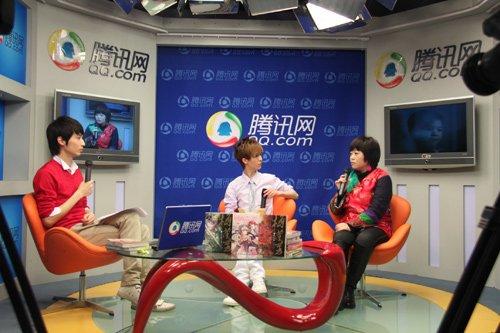 郭敬明、林莹做客腾讯访谈实录