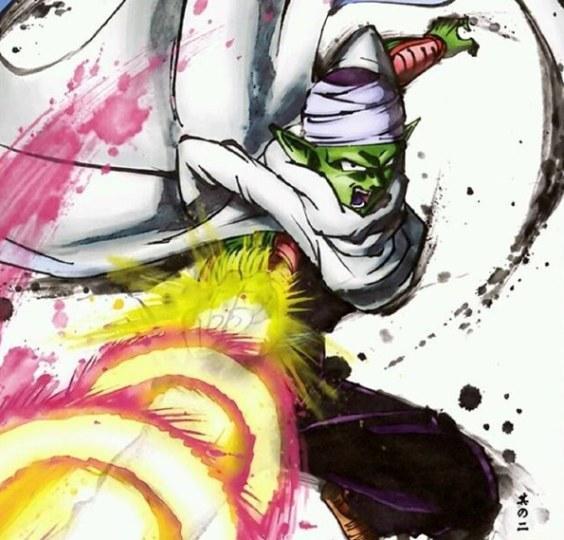 庆《龙珠》30周年!官方创作水墨风格画