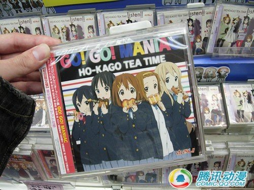 TV动画《轻音少女》第二季CD发售首日销量第一