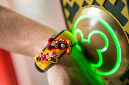 纪录消费纪录防止小孩走丢!万能的迪士尼手环参上