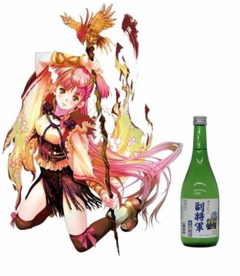日本知名画师助阵日本酒拟人企划