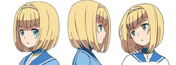 《重裝武器》最新動畫版人設圖更新
