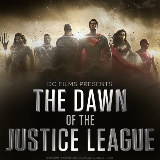DC确认《正义联盟》片名无副标题