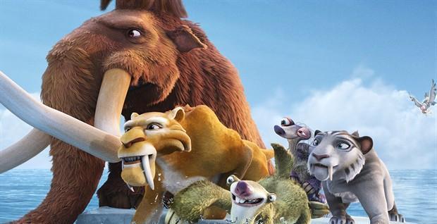 《冰川时代5》内地定档 松鼠又来耍宝