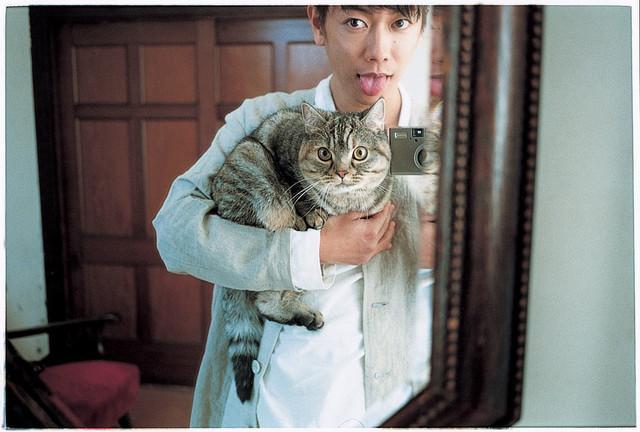 佐藤健与猫自拍卖萌 《猫》官方相册登场