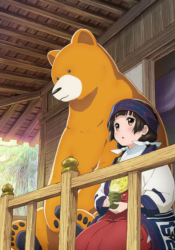 《当女孩遇到熊》宣传图&人设图公布