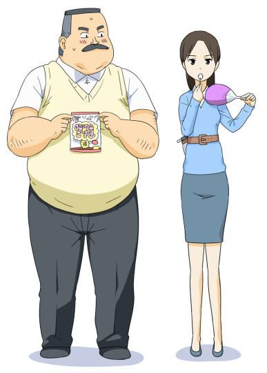冬番《大叔与果汁软糖》曝角色设定图
