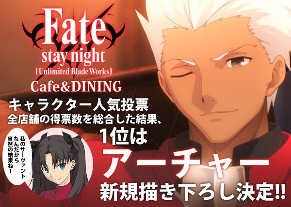 《Fate UBW》最新角色人气投票结果公布