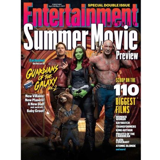 《银护2》登《娱乐周刊》杂志封面 曝片长135分钟
