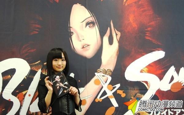 人气声优悠木碧畅谈网络游戏《剑灵》