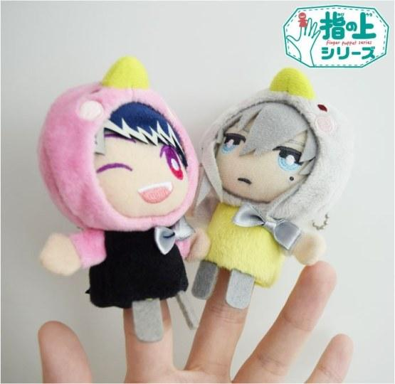 指尖上的爱豆超可爱!《IDOLiSH7》推出指套玩偶