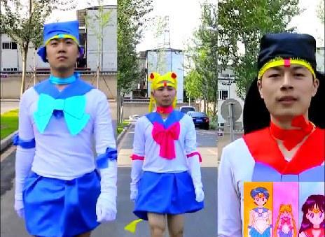大学生真会玩!清华学子恶搞经典动漫开场MV