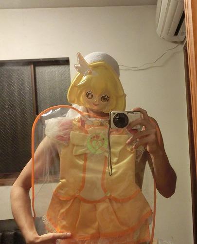 辣眼睛!日本男网友试穿《光之美少女》童装