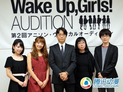 动画《Wake Up,Girls!》制作决定
