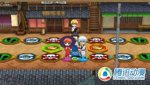 PSP《银魂的双六》金魂篇地图公布