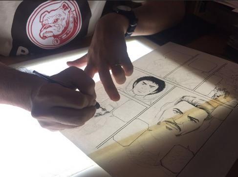 《钢铁侠》×《宇宙兄弟》漫画已登载